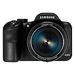 Samsung WB1100F 16MP Smart WiFi Camera Black $124 or Red $132 (Mfg Refurbished) + FS