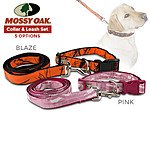 Mossy Oak Dog Collar & Leash Set (M, L, XL) from $4.99 + FS