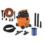 Home Depot: RIDGID 14-Gallon 6.0 Peak High Performance Wet/Dry Vacuum w/ Free Auto Detail Kit $99 ($94 w/ coupon)