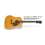 Epiphone inspired by 1964 Texan (Antique Natural) - Guitar Center Clearance $279.97