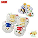 4-Pack Nuk Gerber BPA Free Orthodontic Pacifiers w/ Clips (Size 2) $7 + Free Shipping
