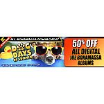 Joe Bonamassa Digital .mp3 downloads 50% off until Thursday