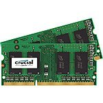 Mac/Macbook Pro RAM Memory: Crucial 16GB Kit (8GBx2) DDR3/DDR3L-1600 MHz (PC3-12800) - $75 Amazon FS Prime