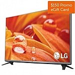 "LG 43"" LED Smart TV 43LF5900 @ Dell for $429.99 + $150 Dell Promo GC"