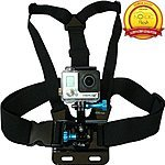 GoPro Accessories from Nordic Flash 40-50% OFF, Chest Mount, Head Strap, Adhesive @Amazon FS w/ Prime