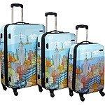 Samsonite 3 Pc Hardside Spinner CityScapes Luggage Set  20/24/28  $229.00 + FS