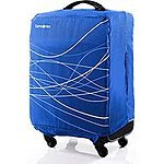 Samsonite Foldable Luggage Cover, Small - Blue or Black $9.99 + Free Shipping