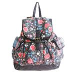 Seventeen Junior's Flap Backpack - Floral $9.99@Sears