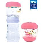 Pacifier & Baby Bottle Nipple UV Sanitizer - Pink -  for Just 19.95!