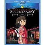 Studio Ghibli / Miyazaki Blu-Rays under $18 at Amazon