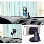 Universal Magnetic Car Windshield Dashboard Mount Holder For iphone Samsung Cell $6.67 + Free Shipping@ebay