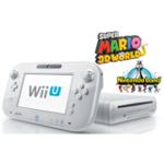 White Wii U Deluxe (32GB) refurbished with Nintendoland and Super Mario 3D World $235+$5 shipping