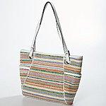 Emma James Double Handle Satchel - White $4.99 + ship @boscovs.com