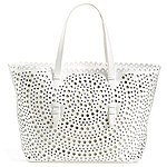 Sondra Roberts Perforated Leather Tote $118.80 + fs @nordstrom.com