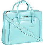 """McKlein USA W Series Lake Forest Leather Women's 15.4"""" Laptop Case $97.99 + fs @ebags.com"""