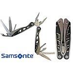 Samsonite Deluxe 14-in-1 Stainless Steel Multi-Tool $14.97 + FS @ Yugster
