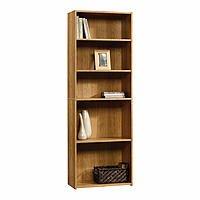 Kmart Deal: Sauder Beginnings 5-Shelf Wood Bookcase (Oak)