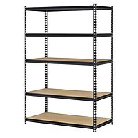 Walmart Deal: Edsal 5-Shelf Black Steel 72