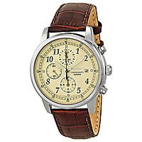 eBay Deal: Seiko Stainless Steel Chronograph Men's Watch Cream Dial (SNDC31) or Black Dial (SNDC33) $99.99 + Free Shipping