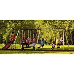 Flexible Flyer Play Park Metal Swing Set $199.97 + FS @ Walmart