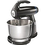 Sunbeam 4-Quart 350-Watt MixMaster Stand Mixer, Black - $27.94 - Amazon