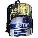 """Back To School Sale Star Wars The Droids 16"""" Backpack $14.99 + ship @ Kmart"""