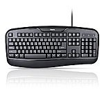 HAVIT® HV-K9000 Computer Keyboard for Office Using $12.77 with Freeshipping