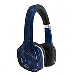 MEElectronics HP-Atlas-SK-MEE Atlas On-Ear Headphones with Inline Microphone and Universal Volume Control - Skyline Blue $19.99, down from $39