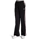 adidas Women's 3-Stripes Pant (color: black, size: small) for $12.05