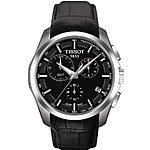 Tissot Men's T-Trend Couturier Analog Display Swiss Quartz Black Watch $354@amazon