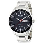 Tissot Men's T0444302105100 PRS 516 Stainless Steel Watch $413.04+ free shipping@ amazon