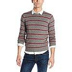 Levi's Men's Lockhart Stripe Crew Sweater $14.54@ amazon