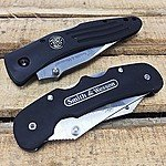 2-Piece Smith & Wesson Clip Folding Knives (400 Series High-Carbon Stainless Steel) $13.50 AC + Free Shipping!