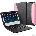 Bluetooth Keyboard Cases for iPad, Galaxy Tab/Note & Nexus 7  from $8 & More + Free S&H