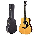 Yamaha FG700S Solid Top Acoustic Guitar w/ Hardshell Guitar Case $200 + Free Shipping!