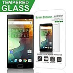 OnePlus Two Glass Screen protector $2 and USB C to A Cable for $6   After Coupon!!
