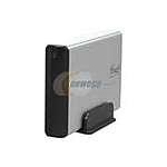 """$12 Rosewill RX35-AT-SU SLV Aluminum 3.5"""" Silver SATA USB 2.0 External Enclosure (Rosewill via Newegg)"""