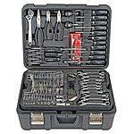301 Piece Mechanics Tool Set (Made by Apex Tool Group, Taiwan) at Harbor Freight Tools $150