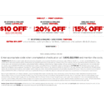 JC Penney: $10 discount on $25 or more order until Sept 1 (and more discount codes for JCP)