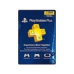 PlayStation Plus 1-Year Membership $39.99