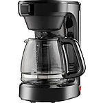 12-Cup Coffee Maker (Black) $7.50 + Free In-Store Pickup