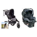 BOB Revolution SE Sport Stroller + BOB B-Safe Infant Car Seat (reg $160) + Car Seat Adapter + $80 in Kohls Cash $424, More + free shipping