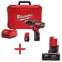 Home Depot Deal: Free Battery or Bare Tool when you Buy Select Milwaukee Tool Kits