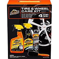 Walmart Deal: Armor All Wheel and Tire Care Care Bundle (22-oz Extreme Tire Cleaner, 22-oz Extreme Tire Shine, 7-Oz Wheel Protectant, Wheel Brush) $8 + Free Ship to Store at Walmart