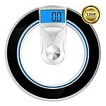Etekcity Digital Body Weight Bathroom Scale, High Precision, 400lb /180kg, Black/Silver for $23.99 AC + FSSS @ Amazon.com