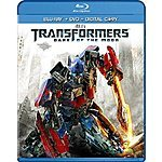 Transformers: Dark of the Moon Movie Blu Ray  for $3.99 + FSSS @Amazon.com when in stock
