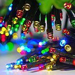 Zitrades Solar Christmas Lights 200led Solar String Lights Outdoor Lighting Patio Lawn Garden Multi Color 72ft 22m 25% off $18.99 to $14.24