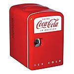 Coca-Cola Personal Retro Mini Fridge by Koolatron $24.97 + Free Shipping Homedepot.com