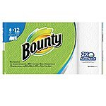 24-Rolls Bounty Giant Rolls or Bounty Basic Mega Rolls Paper Towels + $5 Target Gift Card $25.18 + Free Store Pickup Target.com