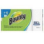 24-Rolls Bounty Giant Rolls or Bounty Basic Mega Rolls Paper Towels + $5 Target Gift Card $25.18 + Free Store Pickup Target.com